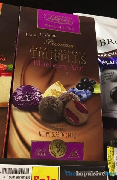 Baron Chocolatier Limited Edition Blueberry Acai Truffles