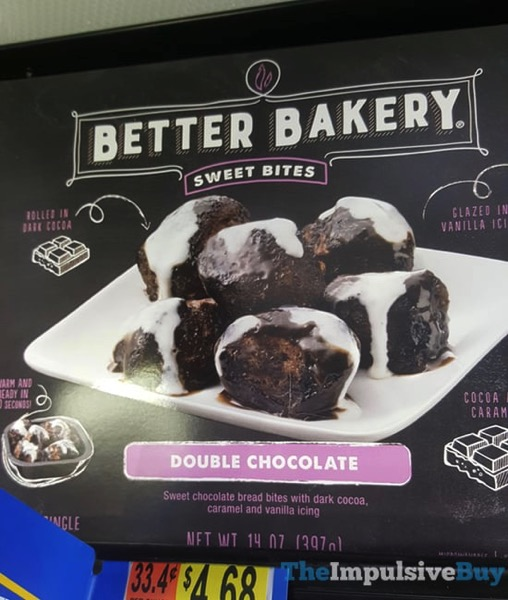Better Bakery Double Chocolate Sweet Bites