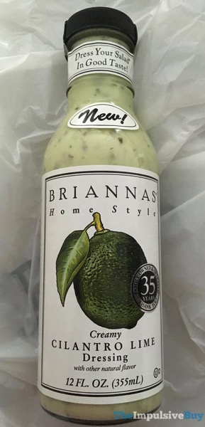 Brianna s Home Style Creamy Cilantro Lime Dressing