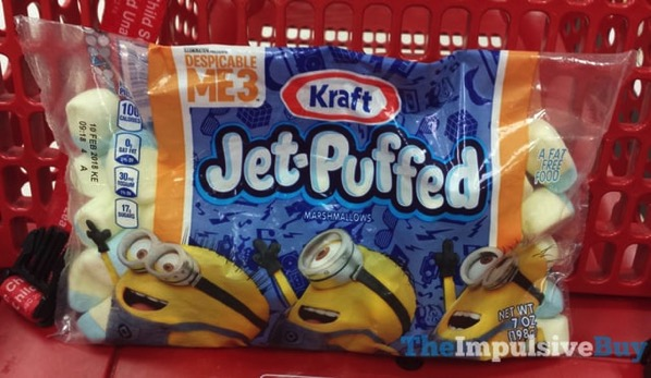 Despicable Me 3 Kraft Jet Puffed Marshmallows