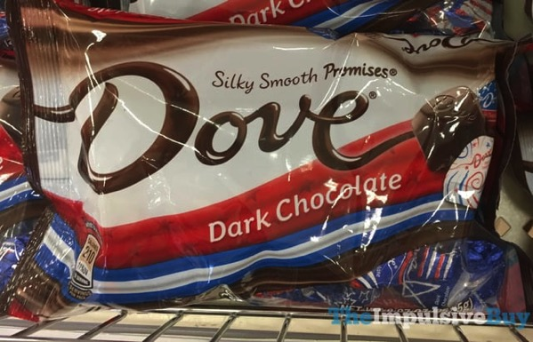 Dove Red White  Blue Dark Chocolate Promises