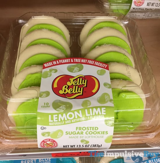 Jelly Belly Lemon Lime Frosted Sugar Cookies