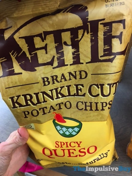 Kettle Brand Spicy Queso Krinkle Cut Potato Chips
