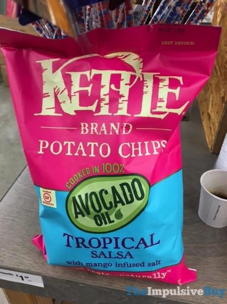Kettle Brand Tropical Salsa Avocado Oil Potato Chips