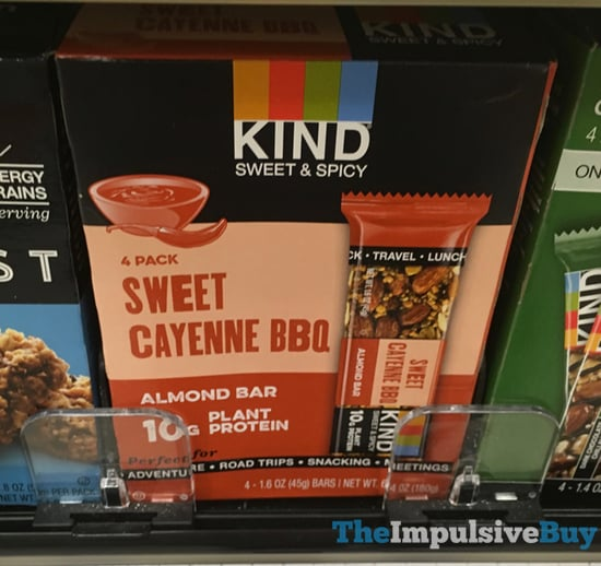 Kind Sweet  Spicy Sweet Cayenne BBQ Almond Bar