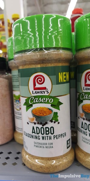 Lawry s Casero Adobo Seasoning with Pepper