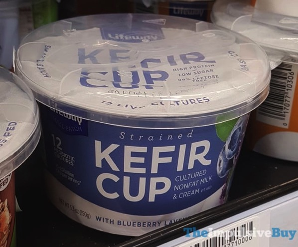 Lifeway Strained Kefir Cup Blueberry Lavender