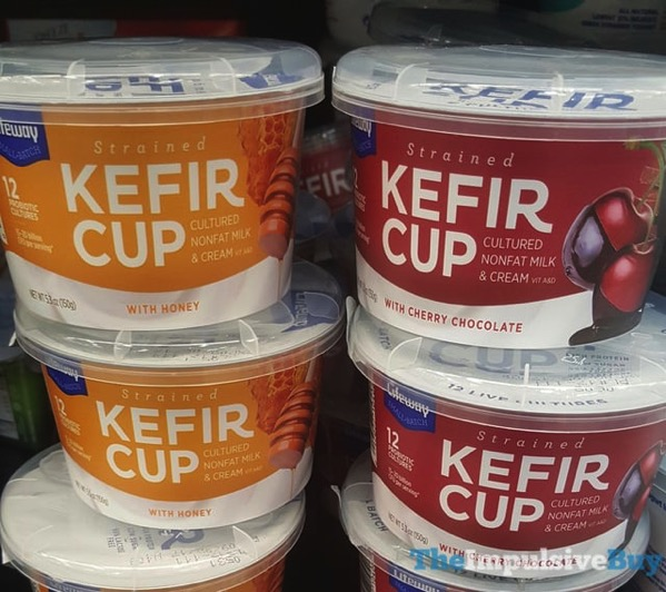 Lifeway Strained Kefir Cup  Honey and Cherry Chocolate