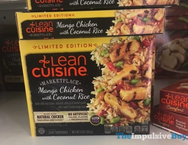 Limited Edition Lean Cuisine Marketplace Mango Chicken with Coconut Rice