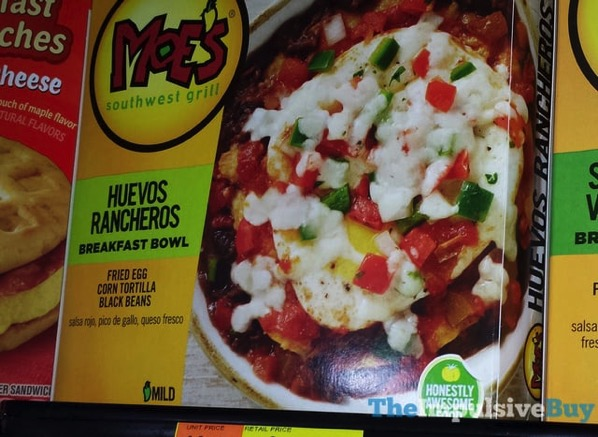 Moe s Southwest Grill Huevos Rancheros Breakfast Bowl