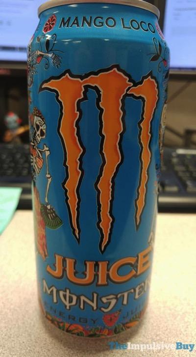 Monster Mango Loco Energy Juice
