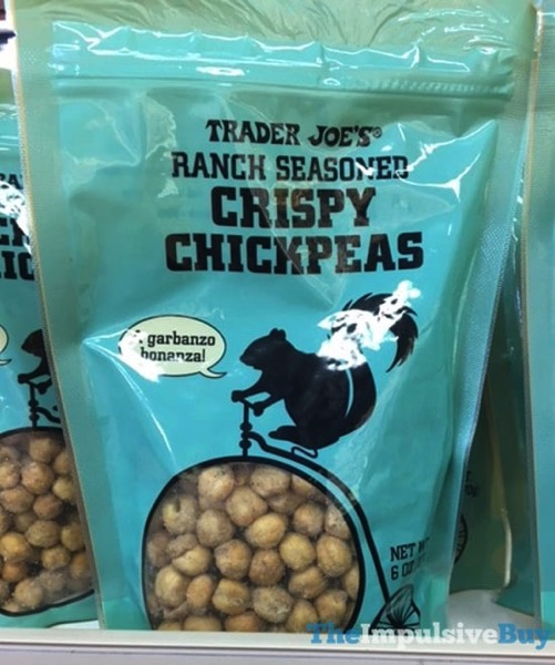 Trader Joe s Ranch Seasoned Crispy Chickpeas