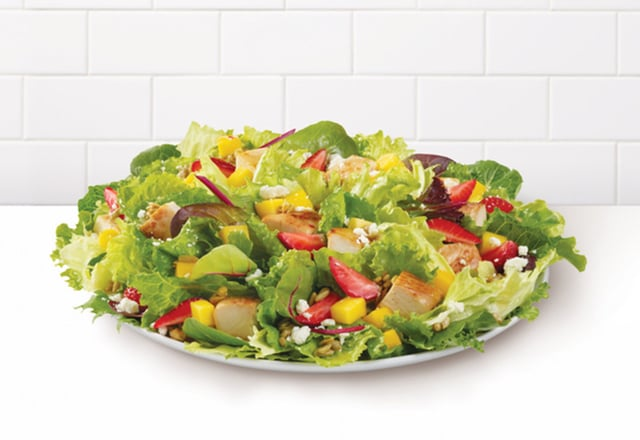 Wendy s Strawberry Mango Chicken Salad