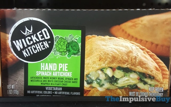 Wicked Kitchen Spinach Artichoke Hand Pie
