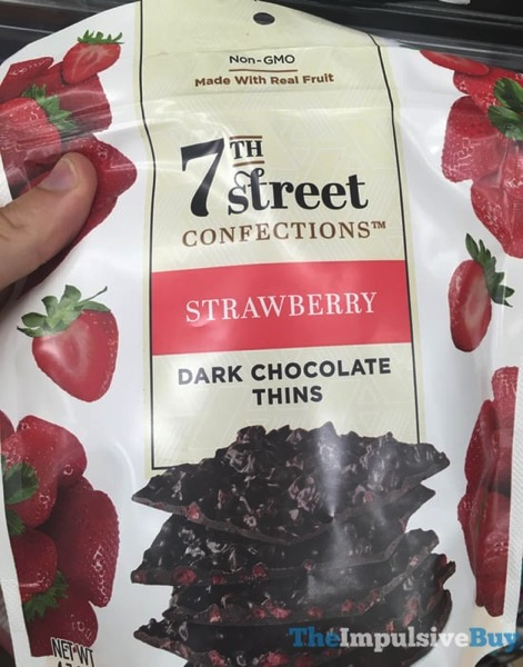 7Th Street Confections Strawberry Dark Chocolate Thins