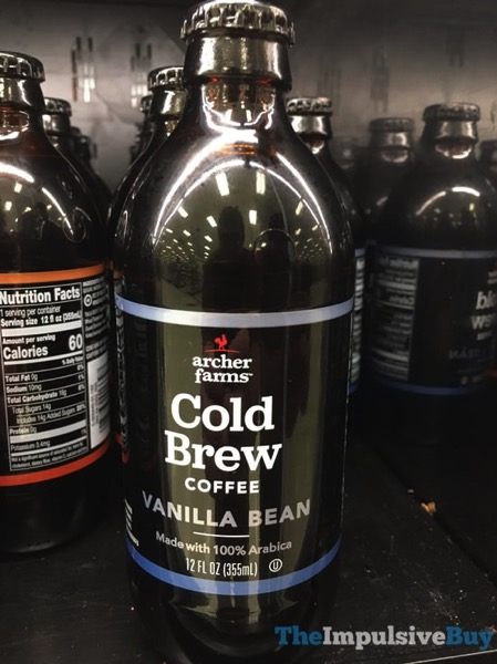 Archer Farms Vanilla Bean Cold Brew Coffee