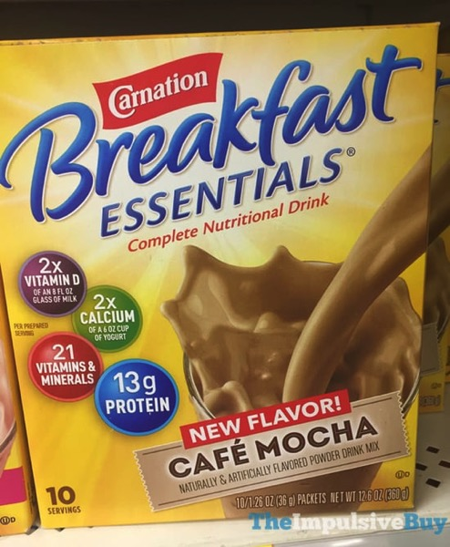 Carnation Breakfast Essentials Cafe Mocha