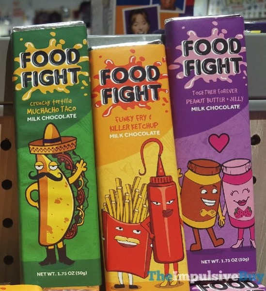 FYE Food Fight Milk Chocolate Bars
