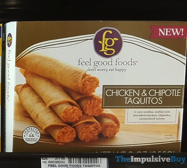 Feel Good Foods  Chicken  Chipotle Taquitos