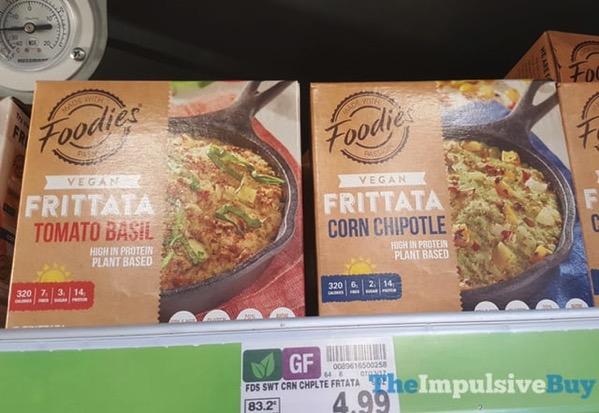 Five Star Foodies Vegan Frittatas  Tomato Basil and Corn Chipotle