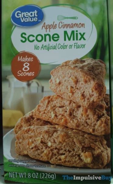 Great Value Apple Cinnamon Scone Mix