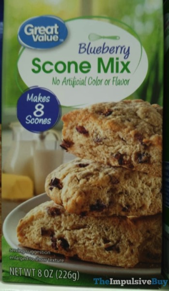 Great Value Blueberry Scone Mix