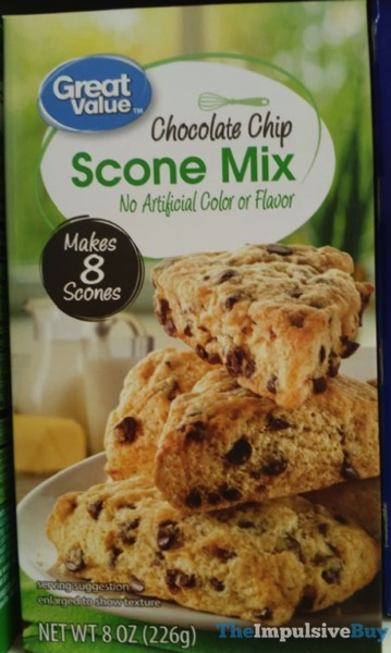 Great Value Chocolate Chip Scone Mix