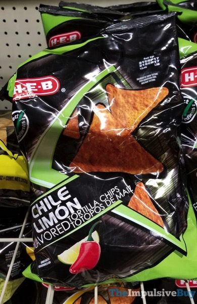 H E B Chile Limon Tortilla Chips
