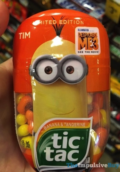 Limited Edition Despicable Me 3  Tim