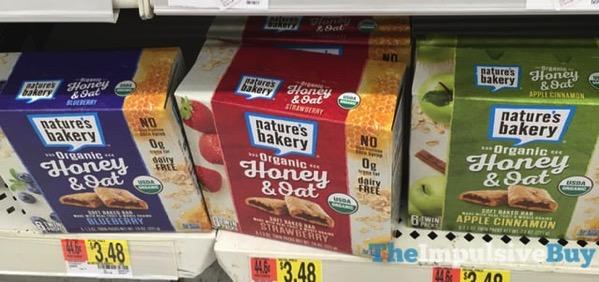 Nature s Bakery Organic Honey  Oat Soft Baked Bars