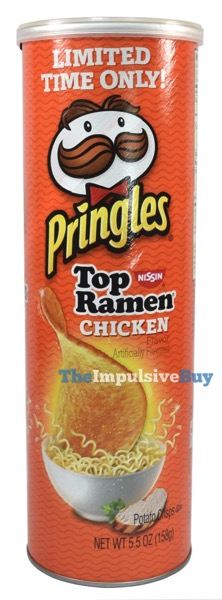 Nissin Top Ramen Chicken Pringles