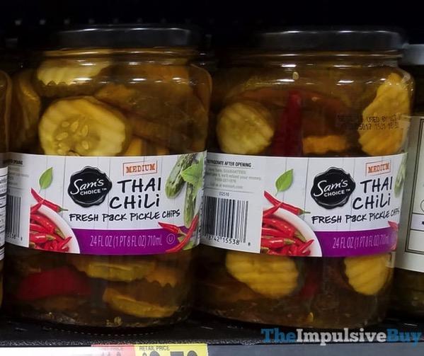 Sam s Choice Thai Chili Fresh Pack Pickle Chips