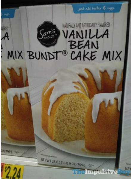 Sam s Choice Vanilla Bean Bundt Cake Mix