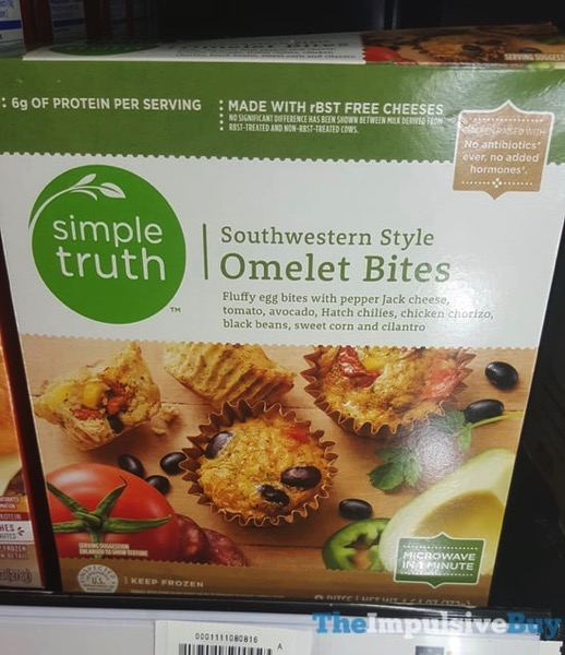Simple Truth Southwestern Style Omelet Bites