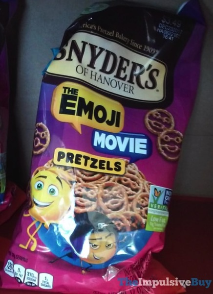 Snyder s of Hanover The Emoji Movie Pretzels
