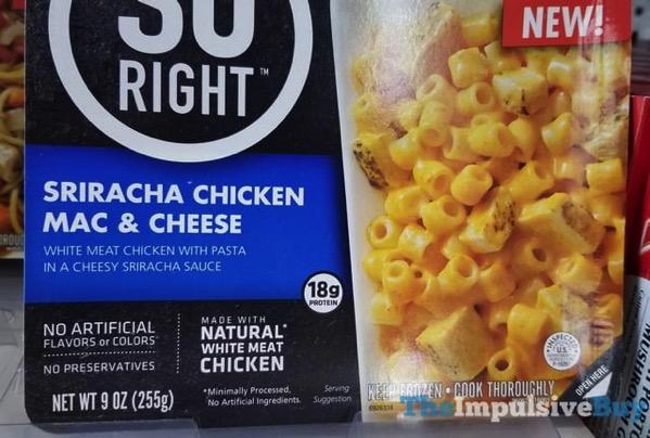 So Right Sriracha Chicken Mac  Cheese