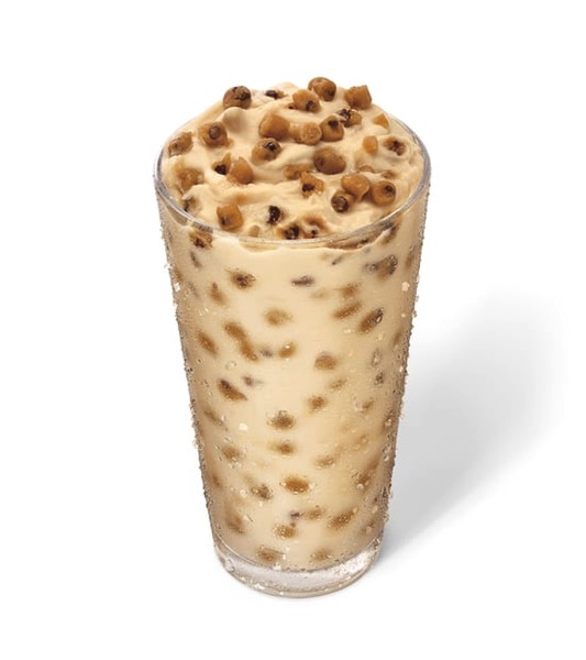 Sonic Chocolate Chip Cookie Dough Custard Concrete