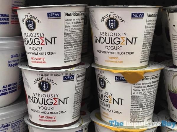 The Greek Gods Seriously Indulgent Yogurt  Tart Cherry and Lemon