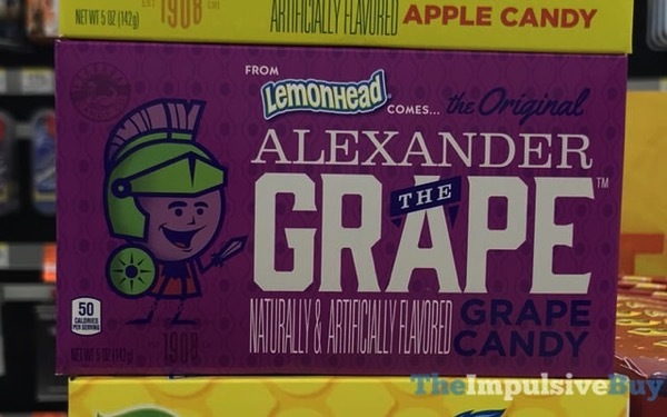 The Original Alexander the Grape Grape Candy