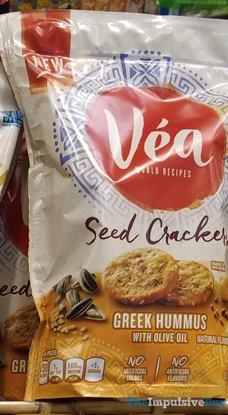 Vea Greek Hummus Seed Crackers