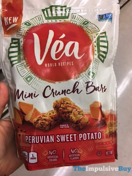 Vea Peruvian Sweet Potato Mini Crunch Bars