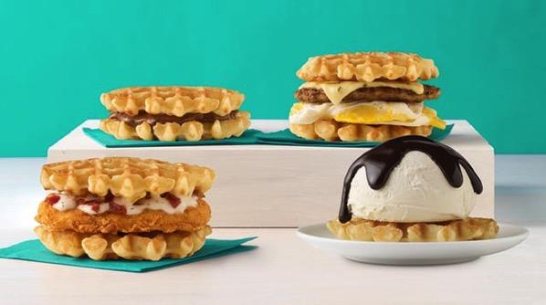 White Castle Belgian Waffle Sliders 2017