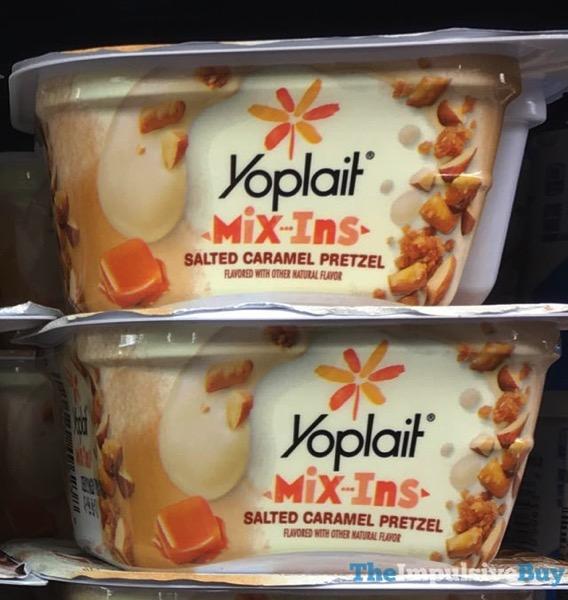 Yoplait Mix Ins Salted Caramel Pretzel