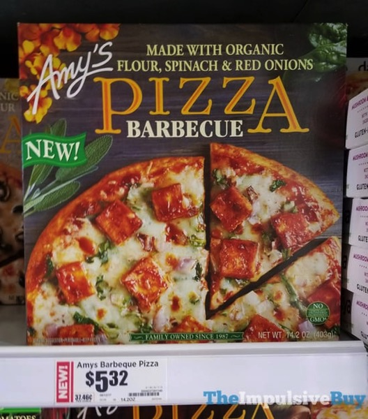 Amy s Barbecue Pizza