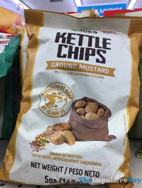Andes Ground Mustard Kettle Chips