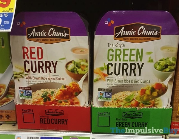 Annie Chun s Red Curry and Green Curry