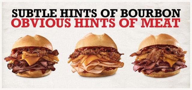 Arby s Bourbon BBQ Sandwiches