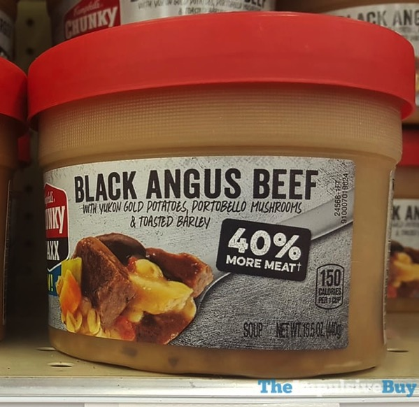Campbell s Chunky Maxx Black Angus Beef Soup