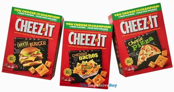 Cheez It You Choose The Champion Flavors