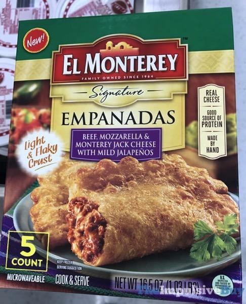 El Monterey Beef Mozzarella  Monterey Jack Cheese with Mild Jalapenos Signature Empanadas